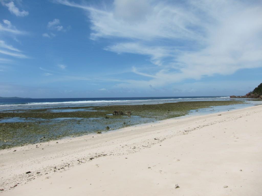 La Digue, океан