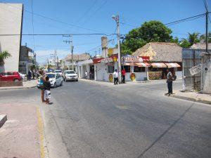 улицы Плая-дель-Кармен
