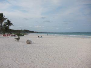 пляж Тулума